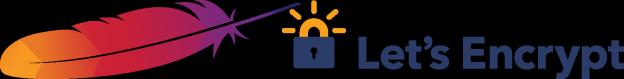 Apache avec Let's Encrypt Logo